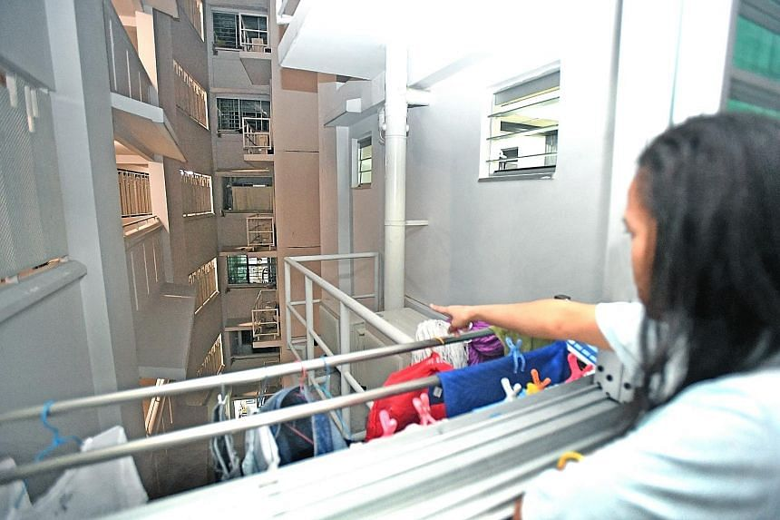 A 25-year-old man is believed to have fallen from the eighth storey of a Housing Board block in Yishun Street 51 on Friday after a burglary.