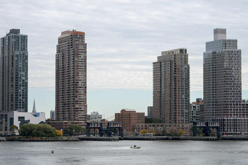 Amazon opted to divide its so-called HQ2 between the Long Island City neighbourhood of Queens in New York (above) and the Crystal City area of Arlington, Virginia.