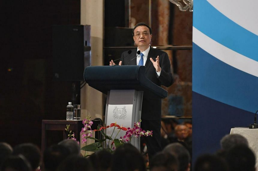 Chinese Premier Li Keqiang said he hopes the Regional Comprehensive Economic Partnership will be signed and implemented next year.