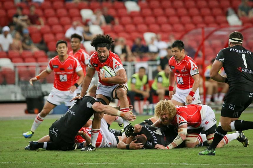 The Hito-Communications Sunwolves will play two of their eight home Super Rugby games in Singapore in 2019.