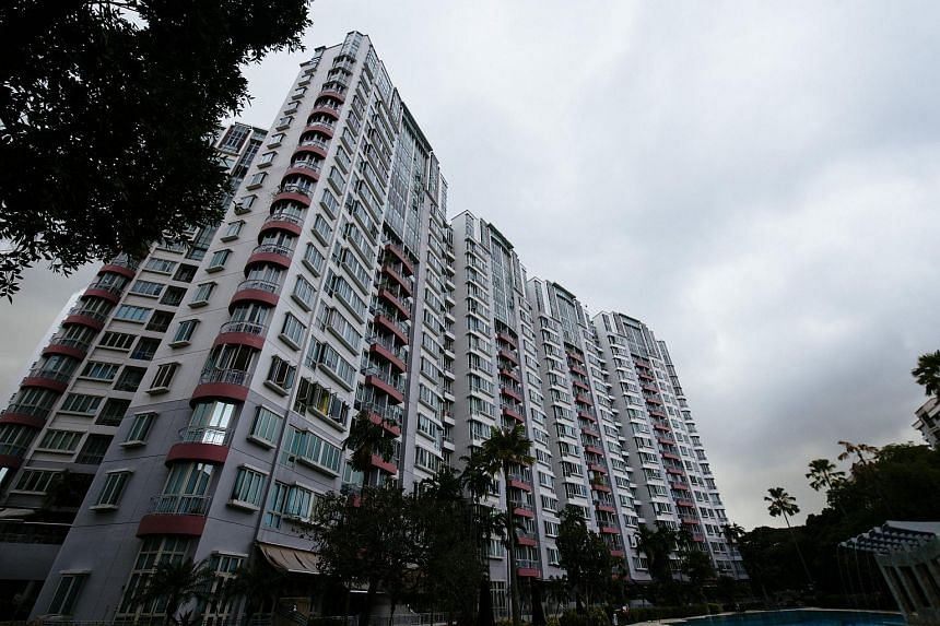 Resale prices of private non-landed homes declined for the third straight month in October.