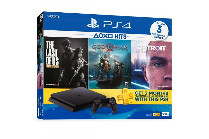 Sony PlayStation4 Hits Bundle