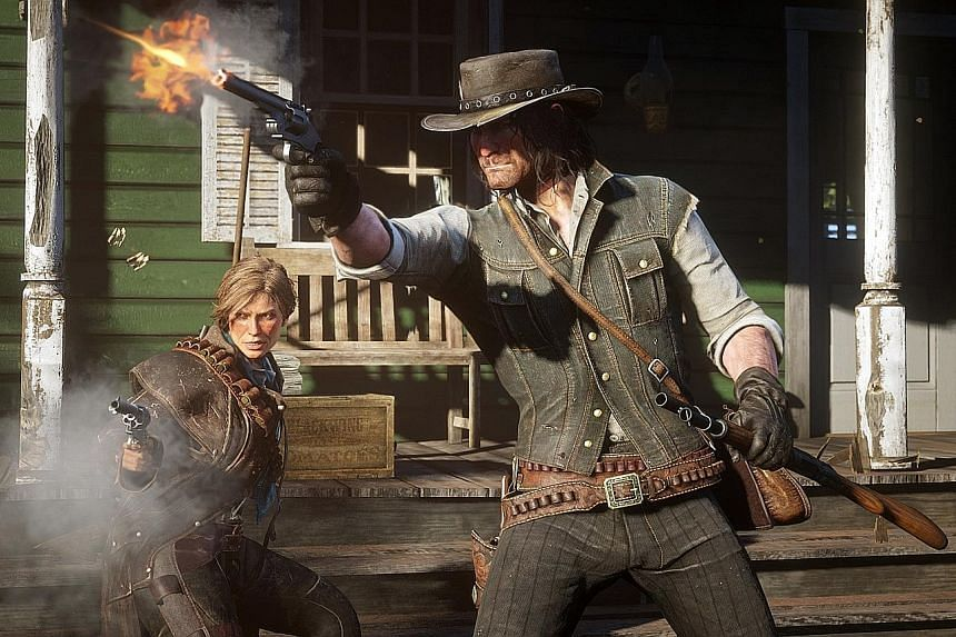 The visuals of Red Dead Redemption 2 could almost be mistaken for stills from a movie.