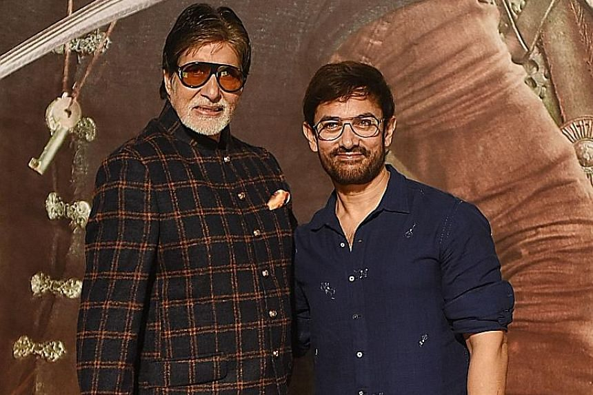 Aamir Khan-Amitabh Bachchan's Thugs Of Hindostan crashes at Box Office