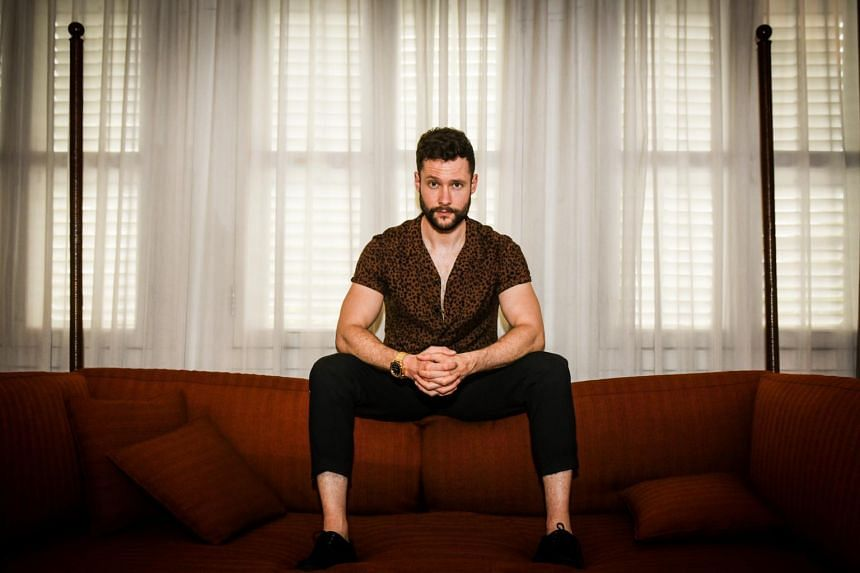 British singer Calum Scott has been on tour around the world since earlier this year to promote his debut album, Only Human, which was released in March.