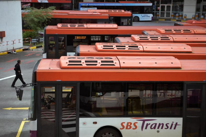 About 300 buses which serve the 18 routes that are part of the Bukit Merah Bus Package run by SBS Transit will have the free service.