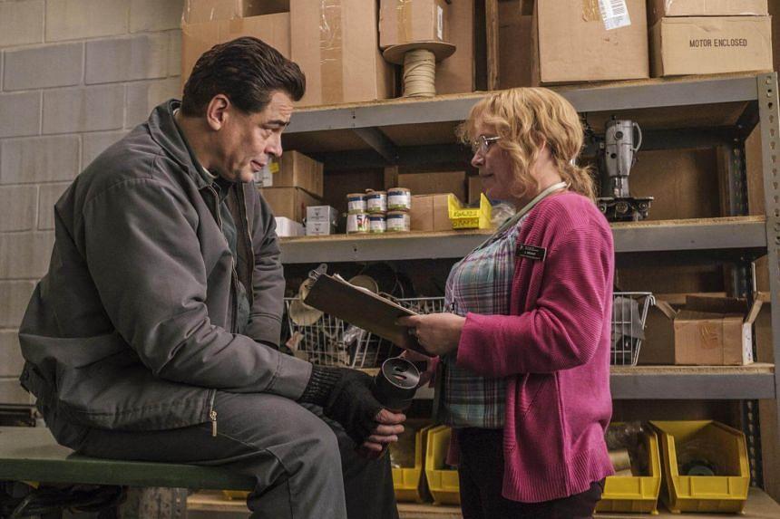 Patricia Arquette and Benicio del Toro star in Escape At Dannemora, a new limited series directed by Ben Stiller.