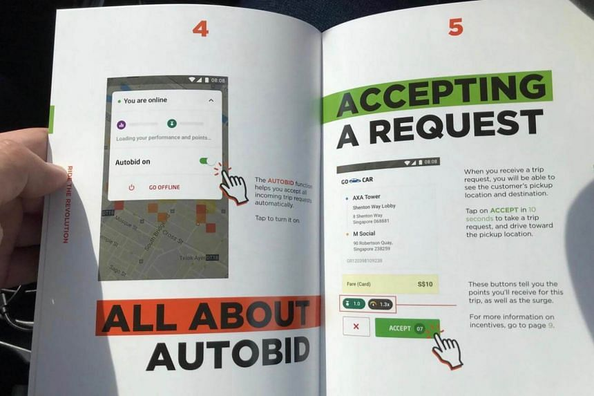 Go-Jek has been signing up drivers through car rental firms since September, and set up a Web portal last month to allow interested drivers to pre-register.
