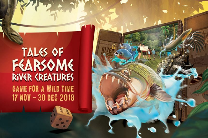 Enjoy a host of exciting games and activities at River Safari from Nov 17 to Dec 30. PHOTO: WILDLIFE RESERVES SINGAPORE