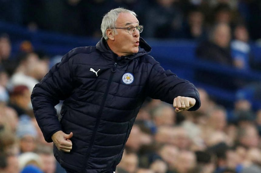 Claudio Ranieri led Leicester to the Premier League title in 2016.