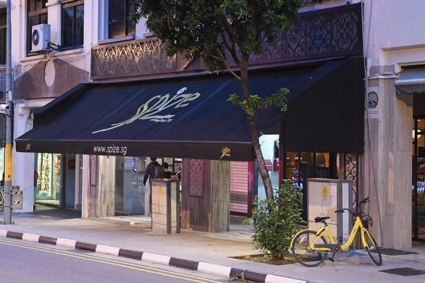 Spize's River Valley branch had its licence suspended when 46 customers were hospitalised after eating its food.