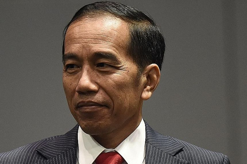Indonesian President Joko Widodo outlined four conditions members ought to keep in mind as they work to close the deal.