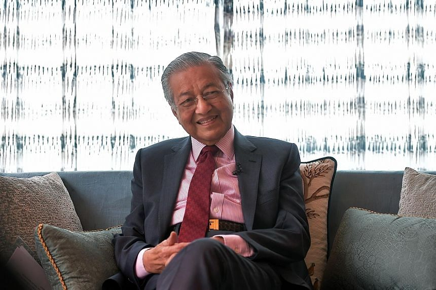 Tun Dr Mahathir Mohamad explained that as Prime Minister, he needed people in his Cabinet whom he is comfortable with.