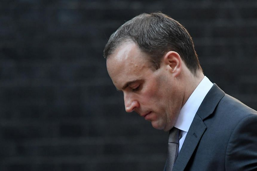 Britain's Brexit minister Dominic Raab said Prime Minister Theresa May's plan threatened the integrity of the country.