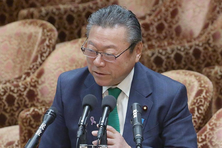 Mr Yoshitaka Sakurada is the deputy chief of the government's cyber security strategy office and also the minister-in-charge of the Olympic and Paralympic Games that Tokyo will host in 2020.