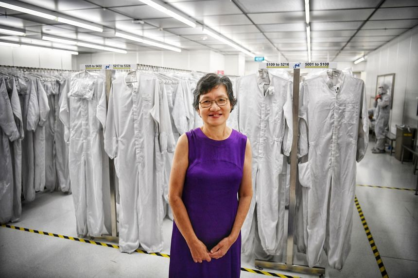 Ms Seow Boon Quey, one of the pioneers of Singapore's semiconductor industry, was honoured at its 50th anniversary dinner yesterday. The consultant at Micron Technology said people in the sector have to adapt constantly and ''each generation will hav