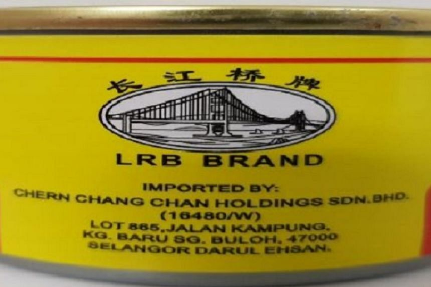 """In December 2017, the Agri-Food & Veterinary Authority of Singapore received feedback that Skytime HupKee Foodstuff was suspected to have sold canned fried dace with salted black beans that were intentionally mislabelled with an """"LRB"""" brand label."""