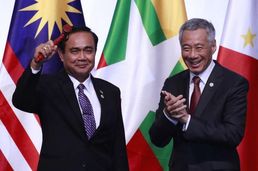 "Thai Prime Minister Prayut Chan-o-cha thanked and congratulated his Singapore counterpart Lee Hsien Loong on ""efficiently driving forward a resilient and innovative Asean community"" and promised that Thailand will continue the good work."