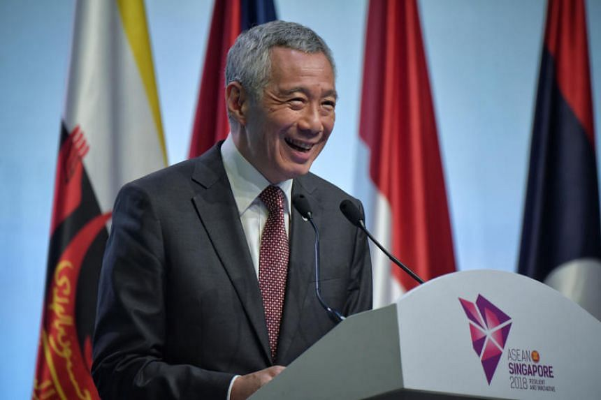 Prime Minister Lee Hsien Loong said Asean by itself was not big enough to be a bloc.