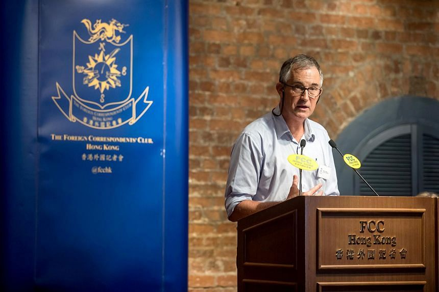 Journalist Victor Mallet was refused a work visa extension and then barred from entering Hong Kong as a tourist after he chaired a talk by an independence activist at the city's press club.