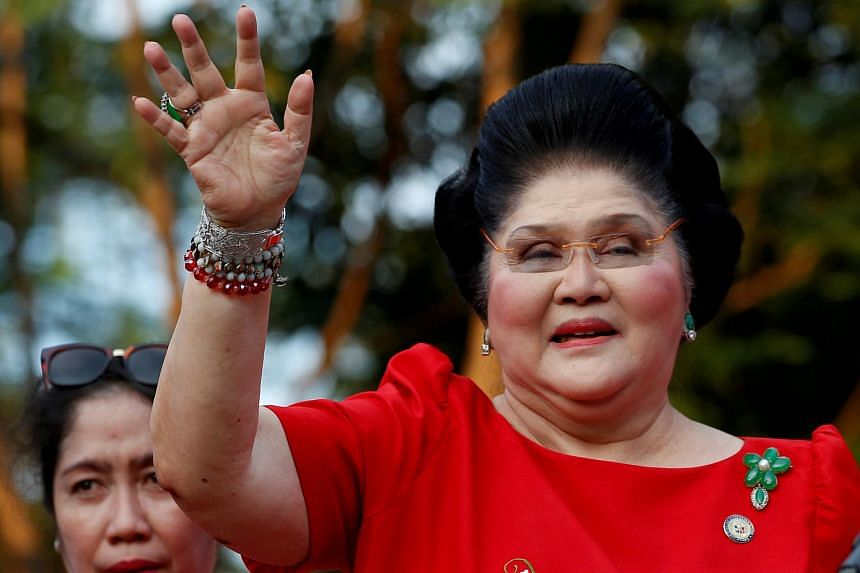 Former Philippine first lady Imelda Marcos posted bail of 150,000 pesos (S$3,919.43) a week after a being found guilty in absentia for seven counts of corruption.