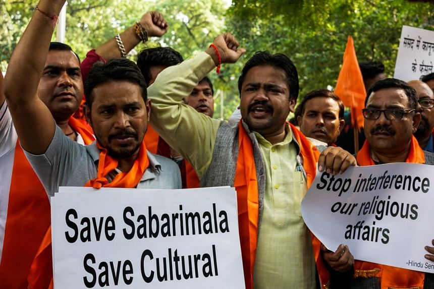Sabarimala has since become a showdown issue for gender activists and Hindu hardliners.