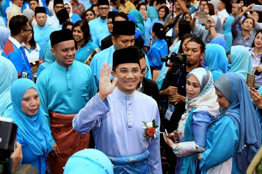 Datuk Seri Azmin Ali (above) is confirmed to be re-elected as deputy president of the Parti Keadilan Rakyat, while his challenger Rafizi Ramli has failed to unseat him.