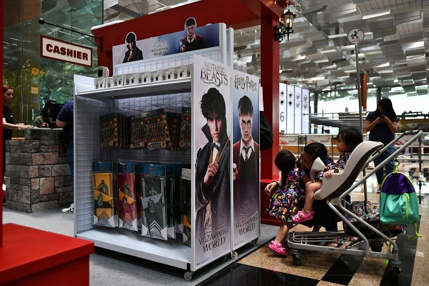 """""""A Wizarding World Holiday at Changi"""" is the first Harry Potter-themed event held outside the Universal Studios theme parks, as well as the first in an airport."""