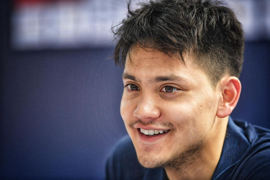 When asked about his goals for the Tokyo Olympics, Olympic champion Joseph Schooling said he wanted to achieve his best timing and to do his best.