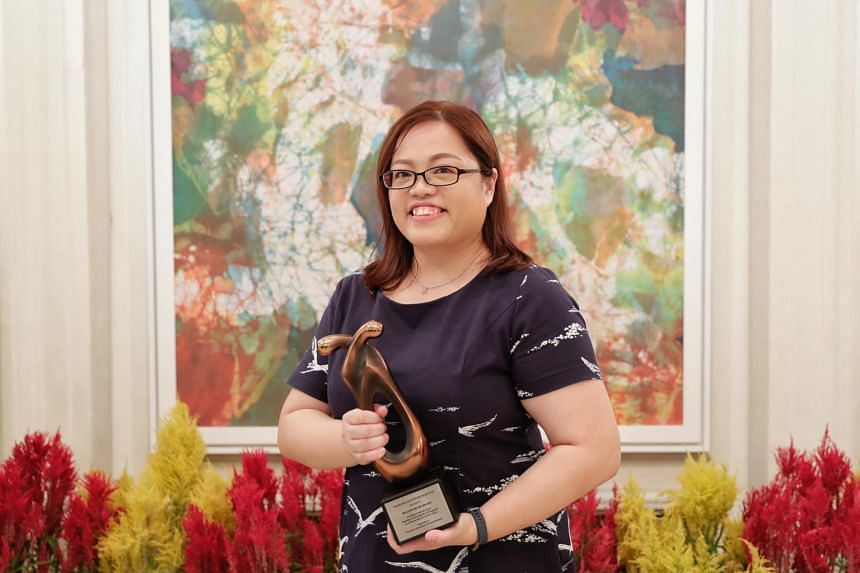 Ms Melissa Chew, winner of the Outstanding Social Worker Award this year, has made a difference in the lives of many.