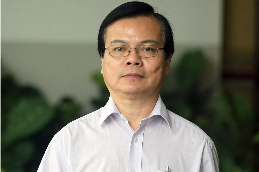 """Wong Chee Meng, 58, """"covered"""" the KTV session as one of the business partners had paid for dinner, said his lawyer."""