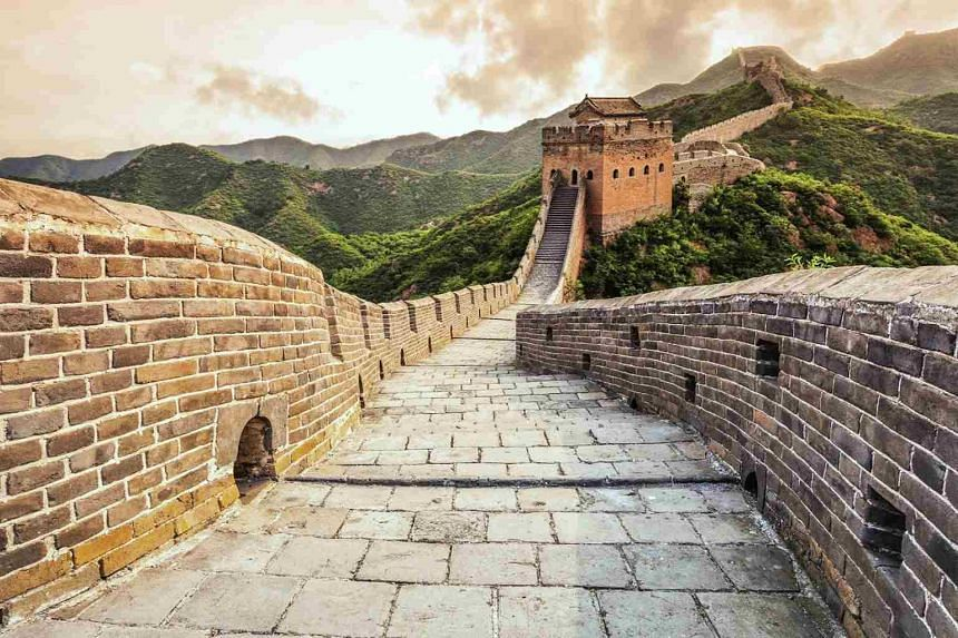 Discover one of the new seven wonders of the world — the Great Wall of China . PHOTO: CHAN BROTHERS TRAVEL