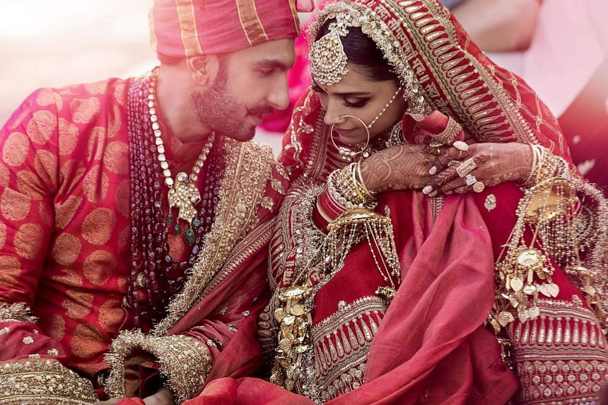 There was a hidden message in Deepika Padukone's wedding dupatta