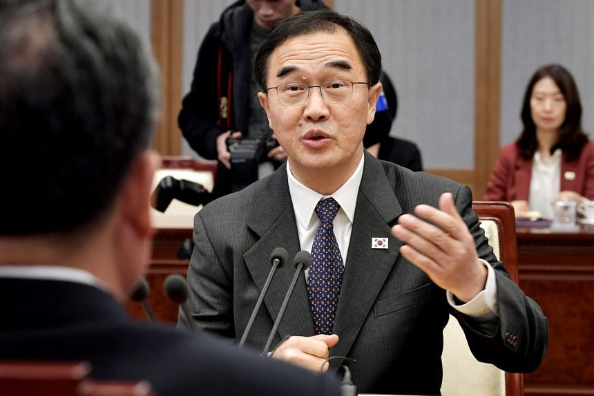 South Korea unification minister Cho Myoung-gyon acknowledged concerns in Washington's foreign policy circles that the two allies were out of step with each other on the denuclearisation on North Korea.