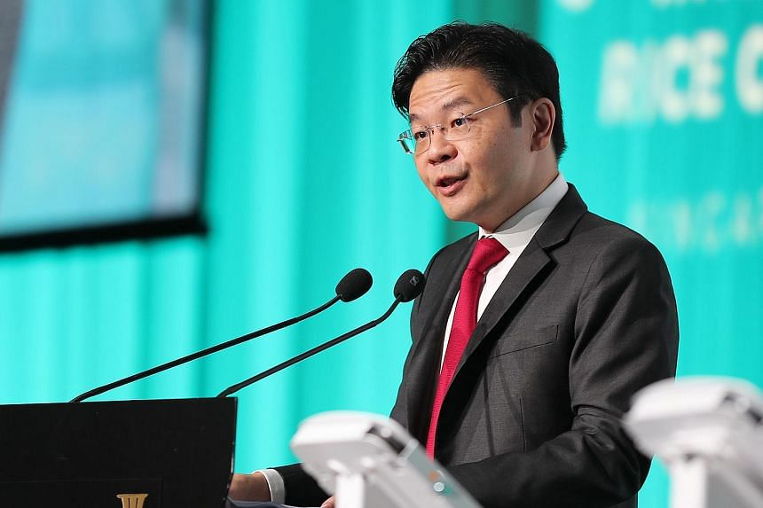 """Mr Wong told the event at The Ritz-Carlton Millenia Singapore: """"The Government cannot, and will not, take a hands-off attitude to the property cycle."""""""