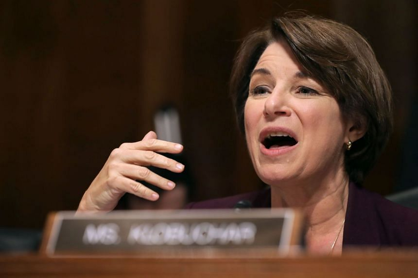 Senator Amy Klobuchar said she would send a letter seeking details about a New York Times article that named the Minnesota Democrat as a target of an aggressive Facebook lobbying campaign.