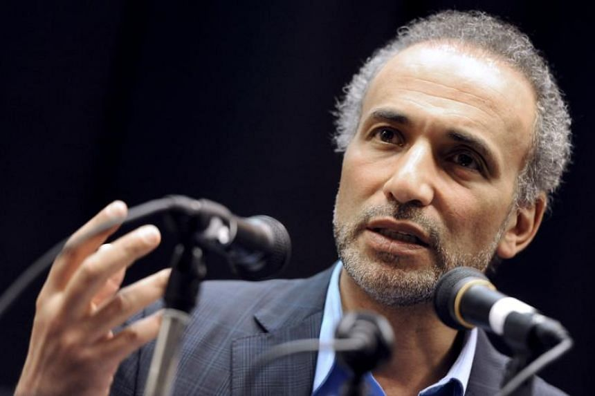 Islamic scholar Tariq Ramadan's bail was set at 300,000 euros (S$467,670.85) and requires him to hand over his passport and report to police once a week.