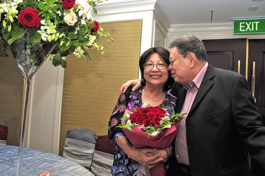 Mr Ong Tiong Tat and his wife, Madam Irene Tan Liang Kheng, in a 2010 photo. Mr Ong died in 2013, and Madam Tan died in 2016. The $4 million gift will help fund NTU's development of teachers.
