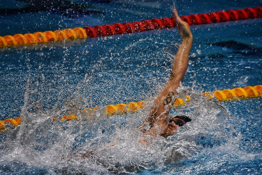 Joseph Schooling proved he still has the capacity to surprise when he took off and swam not his preferred butterfly stroke but the backstroke in the first leg of the mixed 4x50m medley relay.