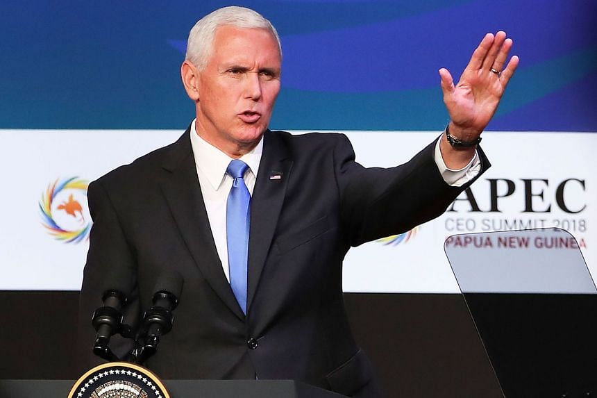 """US Vice-President Mike Pence described the Saudi journalist's killing as an """"atrocity"""" and an """"affront to a free and independent press"""", but declined to comment on classified information."""