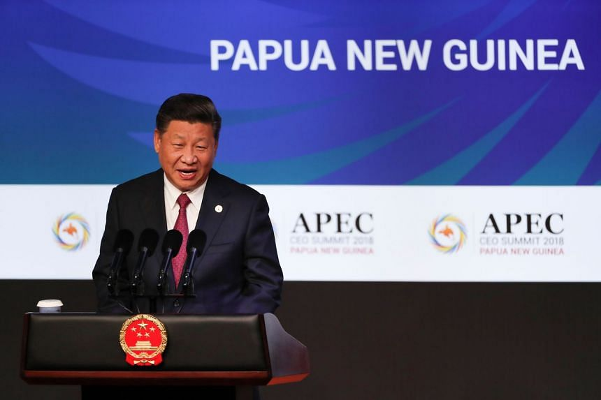 Chinese President Xi Jinping called protectionist actions short-sighted and doomed to failure.