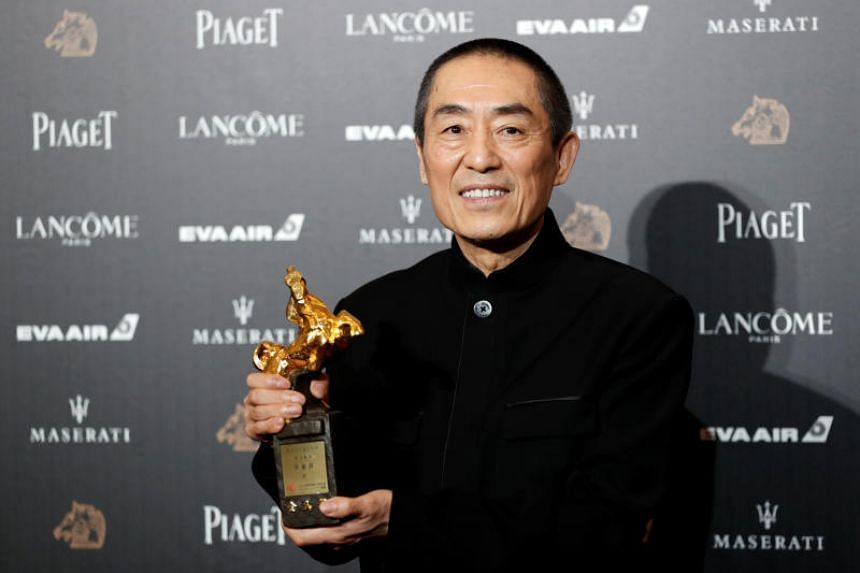Zhang Yimou Took Home The Golden Horse Award For Best Director First In His