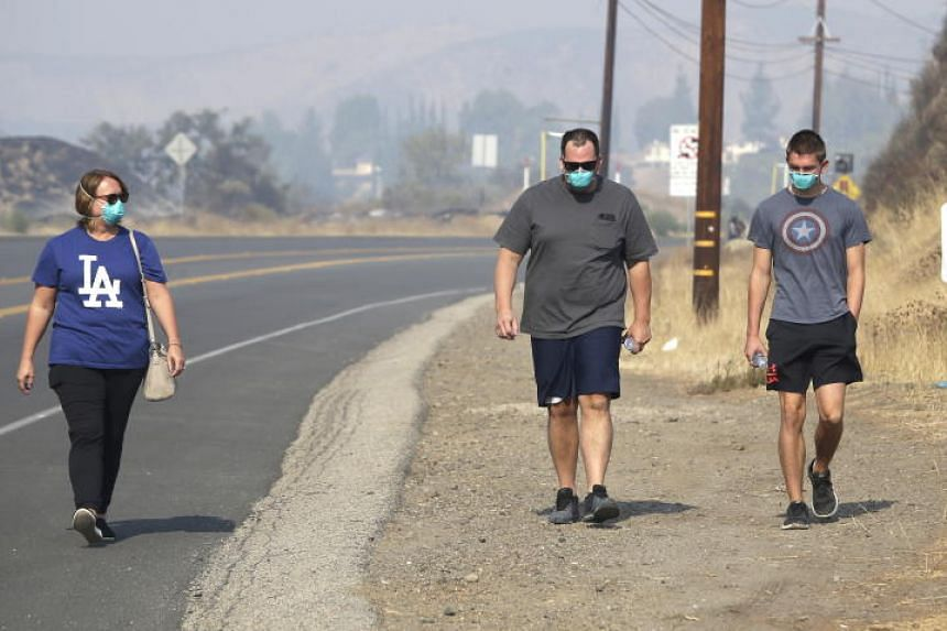 Researchers warn that air quality in North California is now worse than cities in India and China, after fires fuelled by very dry conditions and strong winds scorched the state.
