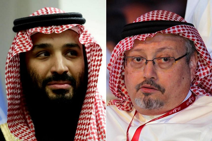 CIA analysts believe Saudi Crown Prince Mohammed bin Salman (left) has a firm grip on power and is not in danger of losing his status as heir to the throne despite the Jamal Khashoggi scandal.