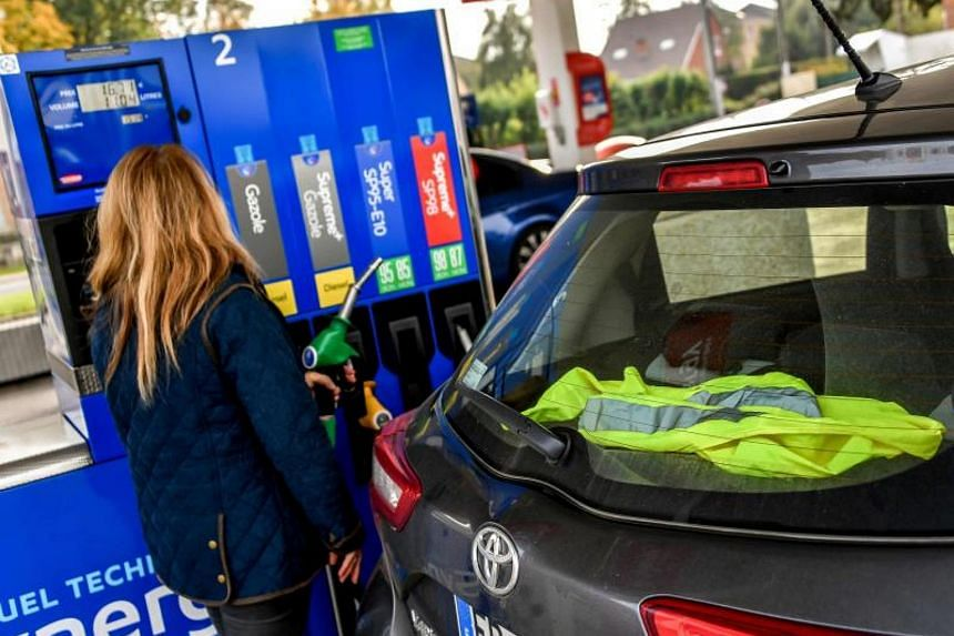 Anger over fuel costs in France, blamed on taxes imposed to fight pollution, has been simmering for months, particularly in smaller towns and rural areas where public transport is patchy.