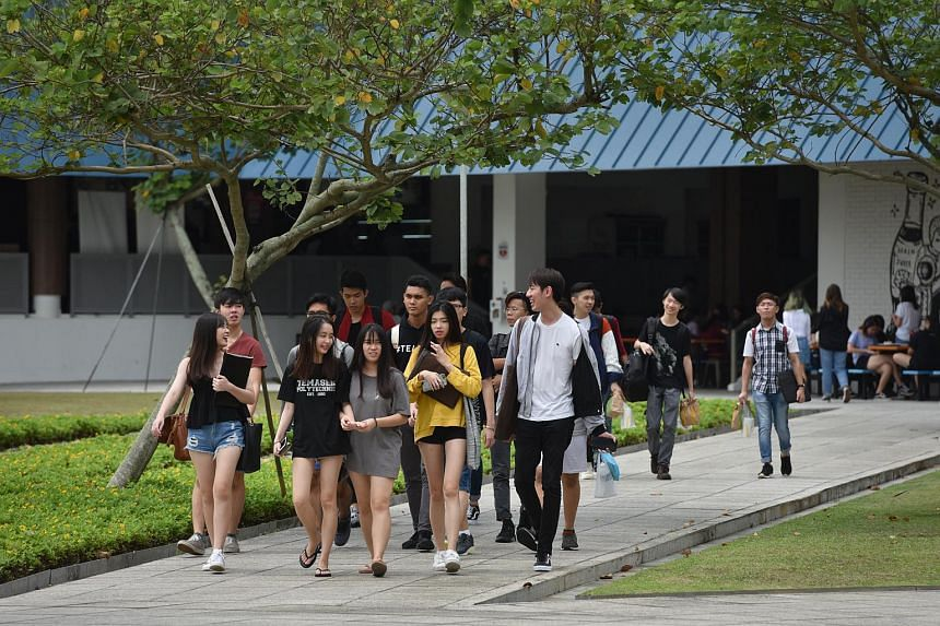 Singaporeans entering the five polytechnics next year will pay an annual tuition fee of $2,900, up from the current $2,800.