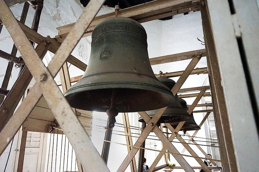 st andrew s bells rung incorrectly for 129 years singapore news