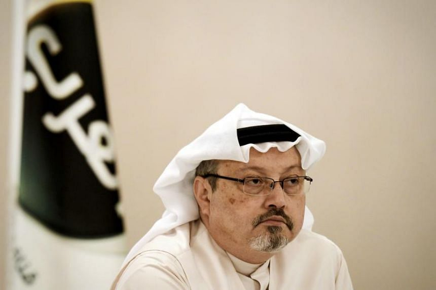 The CIA has reportedly concluded that Saudi Crown Prince Mohammed Bin Salman ordered journalist Jamal Khashoggi's (pictured) assassination in the Saudi consulate in Istanbul on Oct 2, 2018.