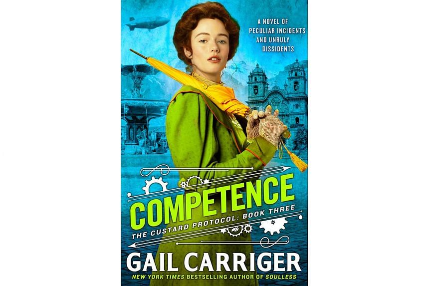 The third and latest book in Gail Carriger's Custard Protocol series, Competence, opens in a supernatural, steampunk version of 1890s Singapore.