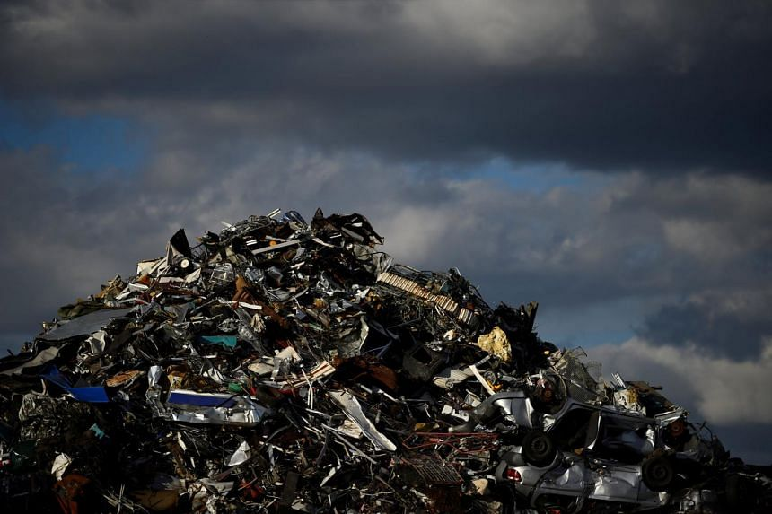 Newly banned product types include hardware, ships, auto parts, stainless steel waste and scrap, titanium and wood.